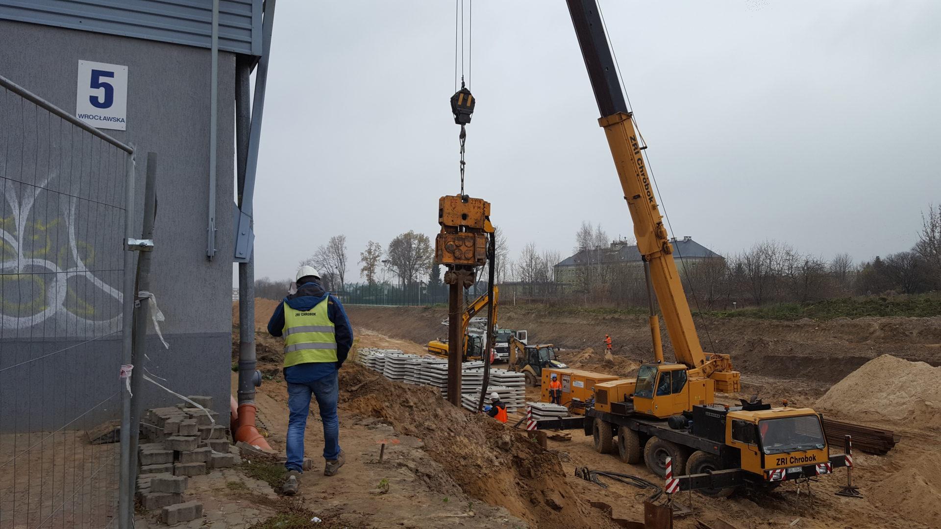 Budowa Trasy Niepodległości w Białymstoku. Etap II.