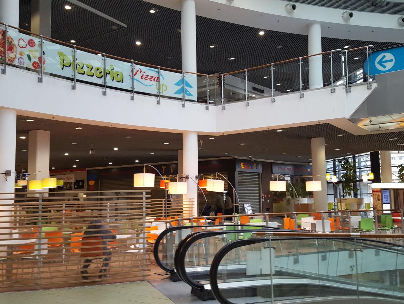 Całodobowy monitoring drgań stropu w Centrum Handlowym w Gdańsku.